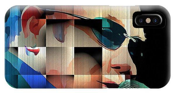Elton John In Cubes 1 IPhone Case