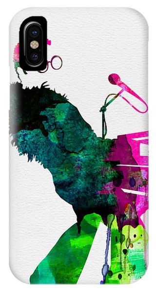 Elton Watercolor IPhone Case