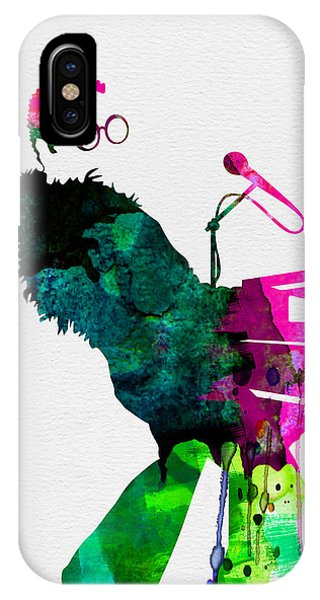 Print iPhone Case - Elton Watercolor by Naxart Studio