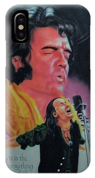 Elvis And Jon IPhone Case