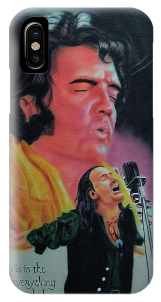 Elvis And Jon IPhone Case