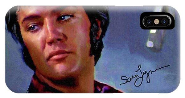Elvis Presley Art 10 IPhone Case