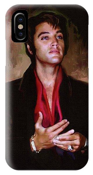 Elvis Presley Art 13 IPhone Case