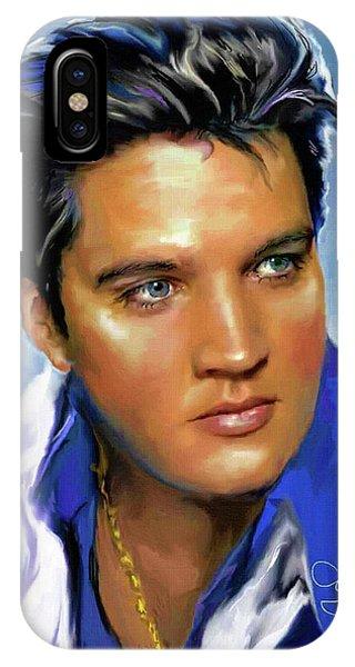 Elvis Presley Art 14 IPhone Case