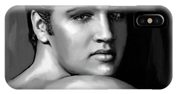 Elvis Presley Art 16 IPhone Case