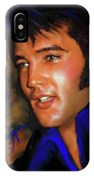 Elvis Presley Art 17 IPhone Case