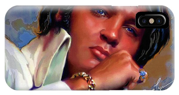 Elvis Presley Art 19 IPhone Case