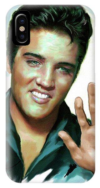 Elvis Presley Art 2 IPhone Case