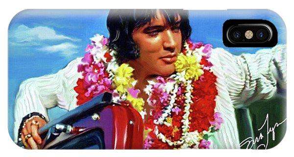 Elvis Presley Art 21 IPhone Case