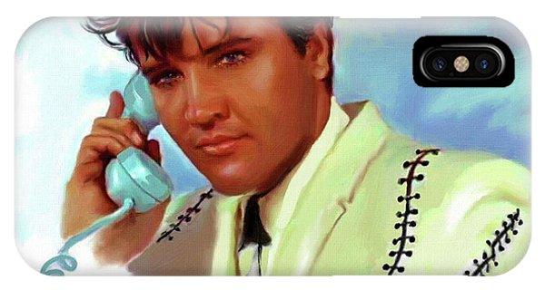 Elvis Presley Art 22 IPhone Case