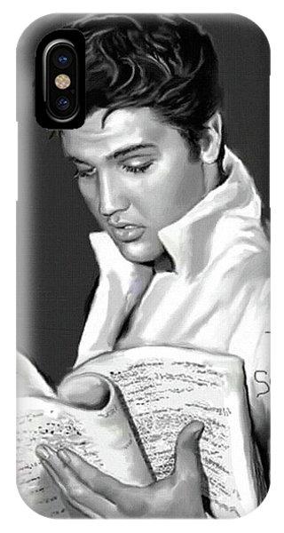Elvis Presley Art 3 IPhone Case