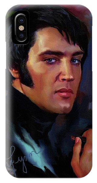Elvis Presley Art 4 IPhone Case