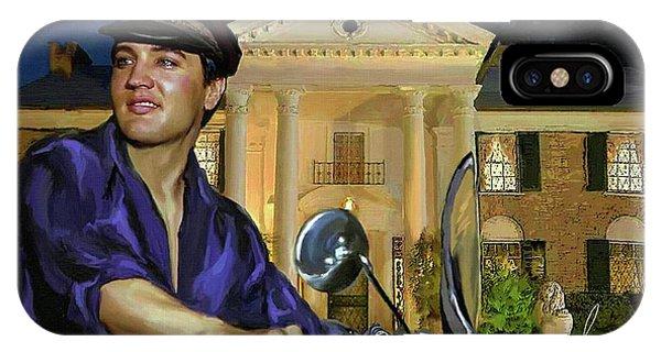 Elvis Presley Art 6 IPhone Case