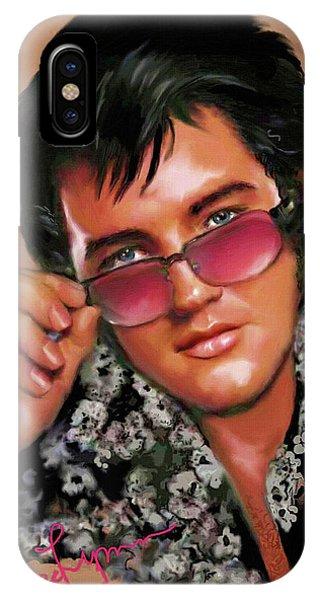 Elvis Presley Art 8 IPhone Case
