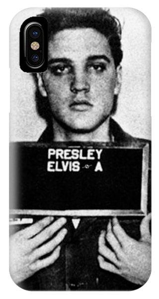 Elvis Presley Mug Shot Vertical 1 IPhone Case