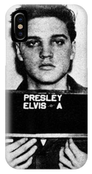 Elvis Presley Mug Shot Vertical 1 Wide 16 By 20 IPhone Case