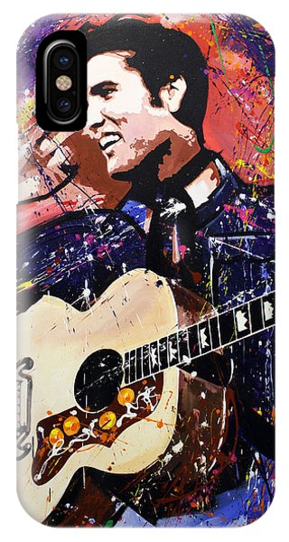 Culture Club iPhone Case - Elvis Presley by Richard Day