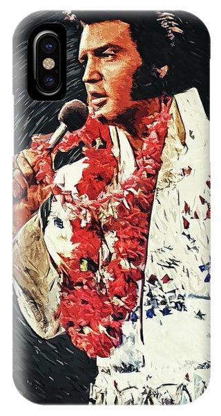Guitar Legends iPhone Case - Elvis Presley by Zapista