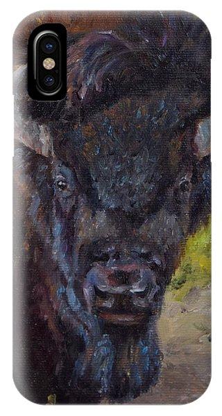 Elvis The Bison IPhone Case
