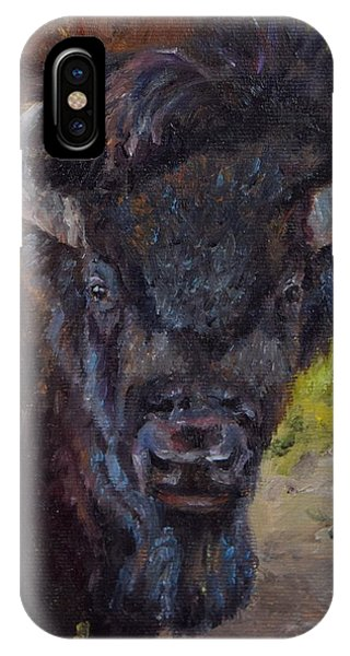 Elvis The Bison IPhone Case