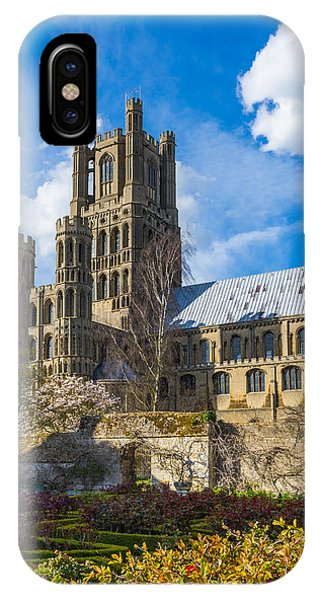 Ely Cathedral And Garden IPhone Case