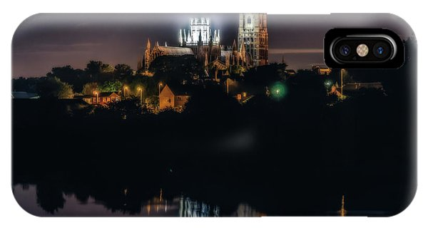 Ely Cathedral By Night IPhone Case