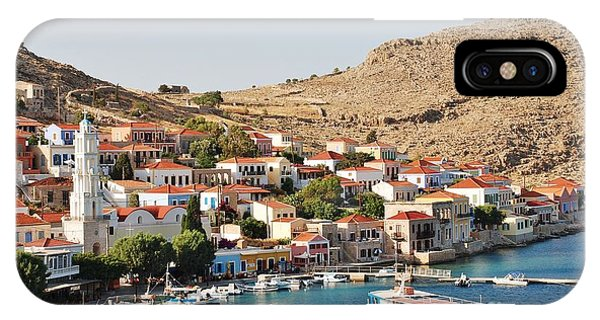 Emborio Village On Halki IPhone Case