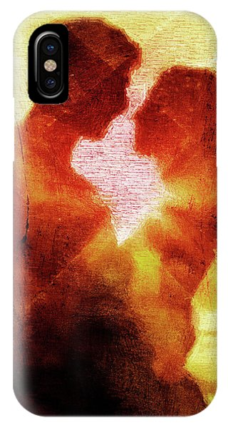Light Paint iPhone Case - Embrace by Andrea Barbieri
