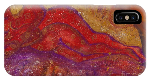 Lgbt iPhone Case - Embrace Divine Love Series No. 1230 by Ilisa Millermoon