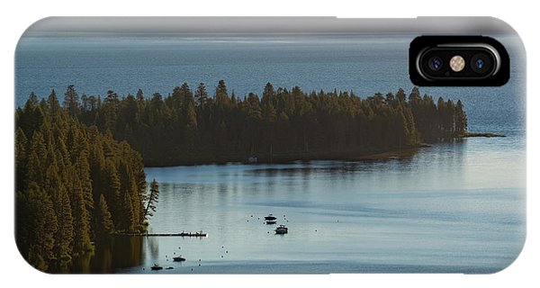 Emerald Bay Channel IPhone Case