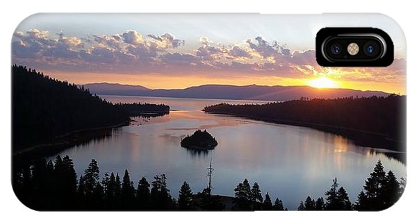 Emerald Bay Sunrise IPhone Case