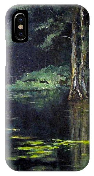 Emerald Bayou IPhone Case