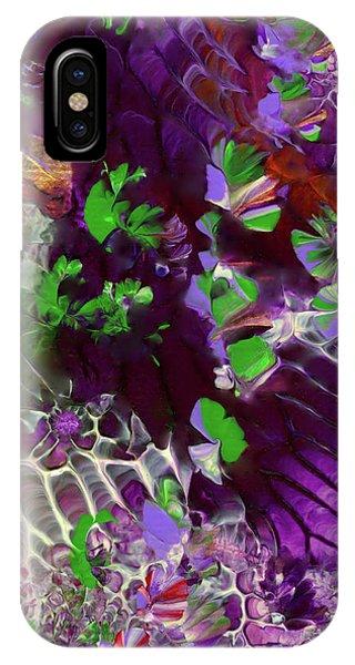 Emerald Butterflies Of Costa Rica IPhone Case
