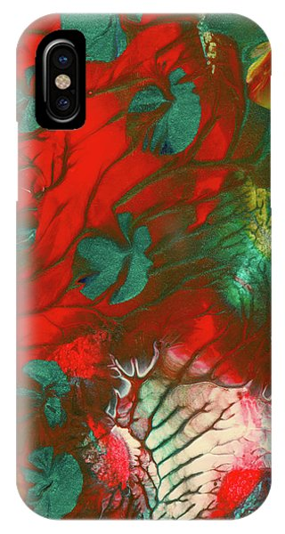 Emerald Butterfly Island IPhone Case