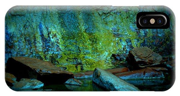 Emerald Cave IPhone Case