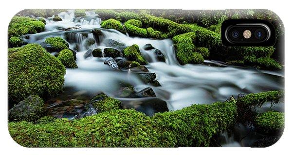 Beautiful Sunrise iPhone Case - Emerald Flow by Edgars Erglis
