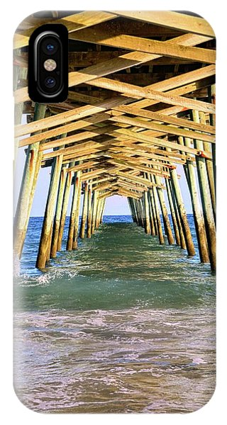 Emerald Isles Pier IPhone Case