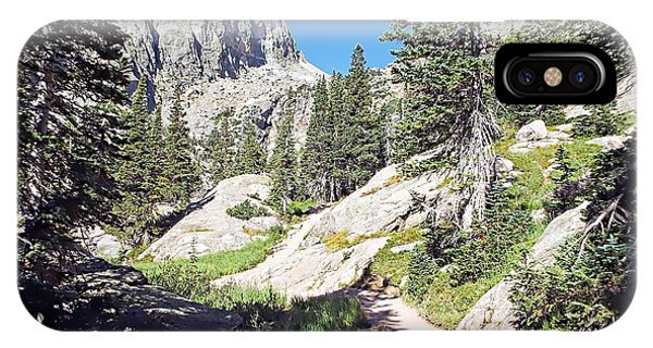 Emerald Lake Trail - Rocky Mountain National Park IPhone Case
