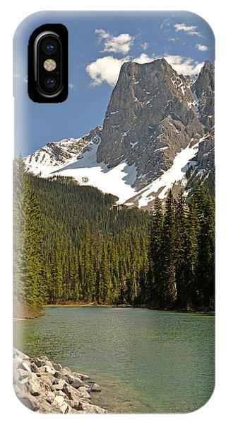Emerald Lake Vista IPhone Case