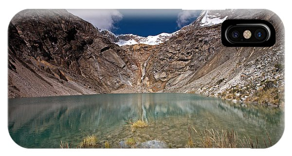 Emerald Mountain Lake IPhone Case