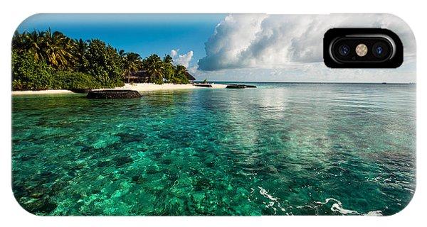 Emerald Purity. Maldives IPhone Case