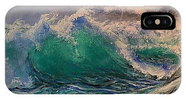 Emerald Sea IPhone Case
