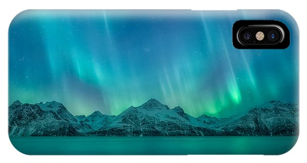 Light iPhone Case - Emerald Sky by Tor-Ivar Naess