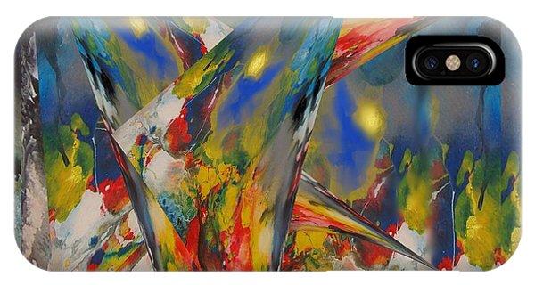 Emergence Of Colour Phase 3 IPhone Case