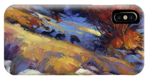 Nature Abstract iPhone Case - Emergence by Steve Henderson