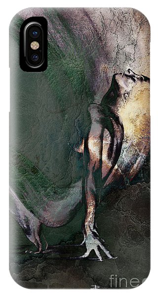 emergent II - textured IPhone Case