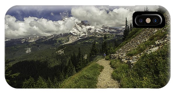 Emerging Above Timberline IPhone Case
