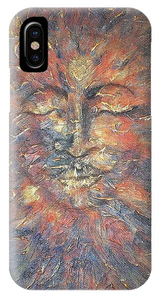 Emerging Buddha IPhone Case