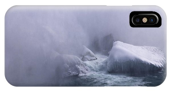 Emerging From The Mist IPhone Case