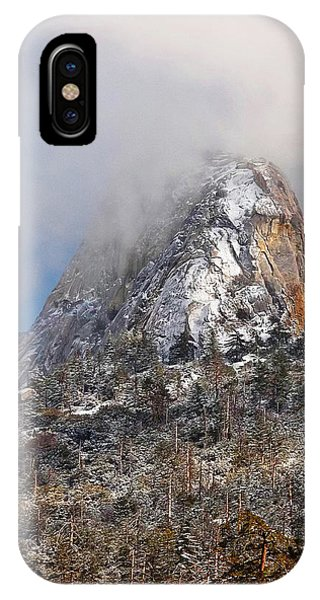 Emerging Peak - Idyllwild IPhone Case